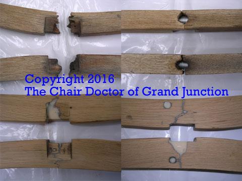 ... Oak Office Chair Leg Breaks