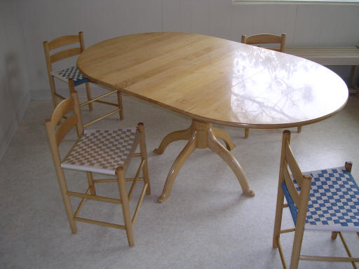 Shaker table kit by The Chair Doctor